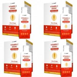 Pachet 3+1 Gratuit Vitamina C Lipozomala Zooki (30 pliculete), YourZooki
