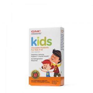 Kids Probiotice masticabile 12.5 bil pentru copii intre 4-12 ani (30 capsule), GNC