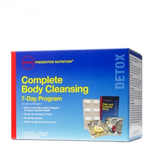 Complete body cleansing program - formula pentru 7 zile (21 pachetele), GNC