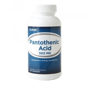 Acid pantothenic 500 mg (100 capsule), GNC