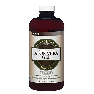 Aloe Gel Unflavored (946 ml), GNC