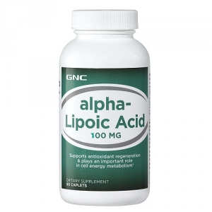 Acid Alpha Lipoic 100 (60 capsule), GNC