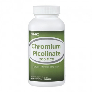 Crom Picolinat 200 mg (90 capsule), GNC