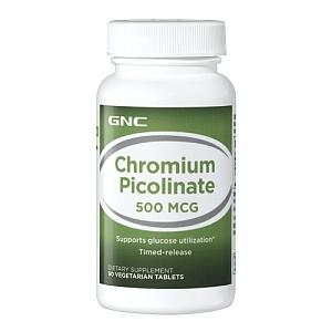 Chromium 500 mg (90 tablete), GNC