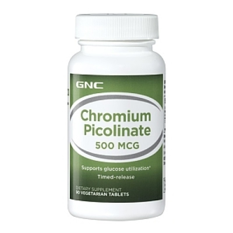 Chromium 500 mg (90 tablete), GNC
