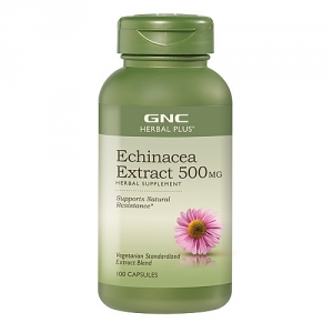 Echinacea Extract 500 mg (100 tablete), GNC
