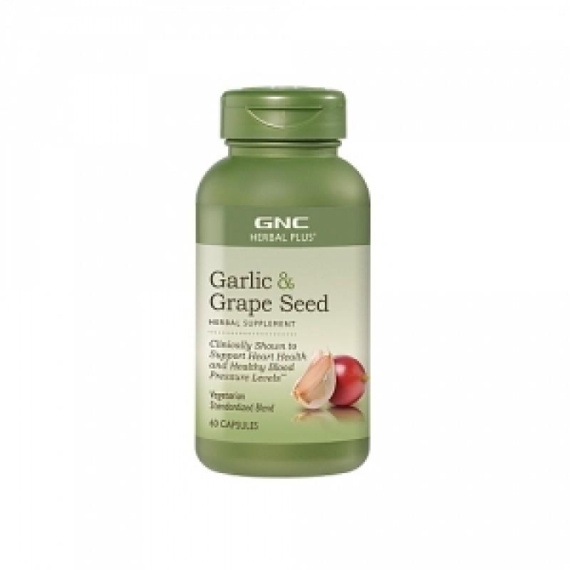 Garlic & Grape Seed (60 capsule), GNC