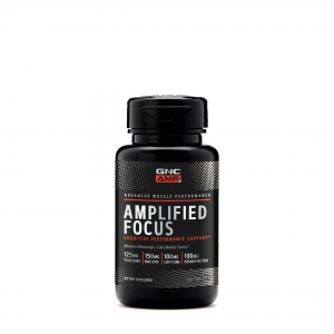 AMP Amplified focus (60 capsule), GNC