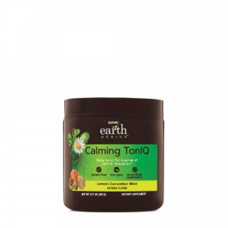 Calming Toniq cu aroma de lamaie, castravete si menta (90 grame), GNC EARTH GENIUS