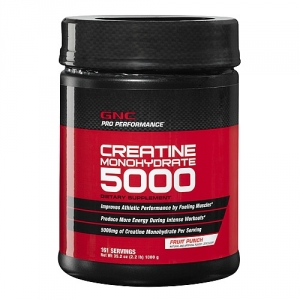 Creatina Monohidrata 5000 mg cu aroma de fructe (1 kg), GNC