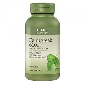 Fenugreek - Schinduf 610 mg (100 capsule), GNC HERBAL PLUS