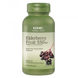 Extract standardizat din fructe de soc 550 mg (100 capsule), GNC