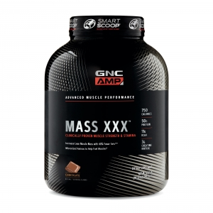 AMP Amplified Mass XXX cu aroma de ciocolata (2812 grame), GNC PRO PERFORMANCE