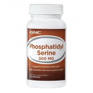 Fosfatidil Serina 300 mg (30 capsule), GNC