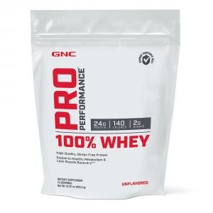 100% Proteina din zer fara aroma (403.2 grame), GNC PRO PERFORMANCE