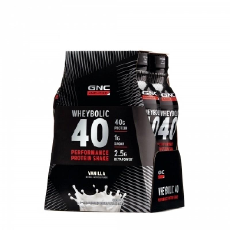 AMP Advanced muscle performance proteina wheybolic cu aroma de vanilie (414 ml), GNC