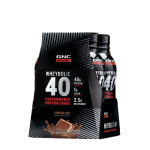 AMP Advanced muscle performance proteina wheybolic cu aroma de ciocolata (414 ml), GNC