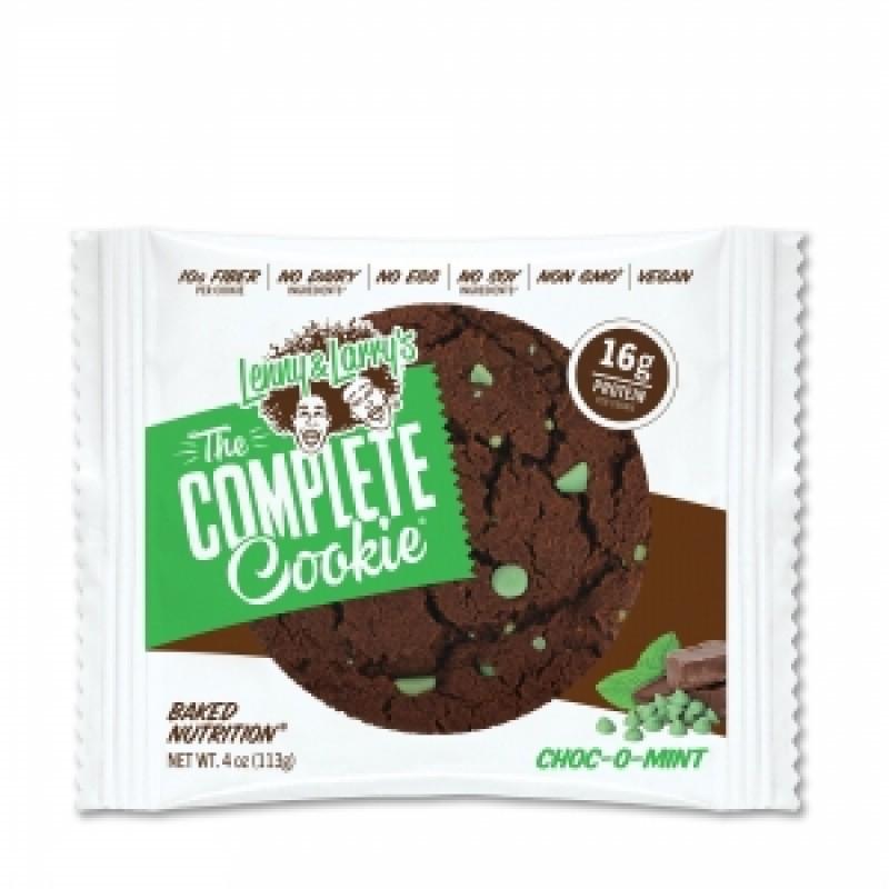 Biscuit proteic vegan cu aroma de ciocolata si menta (113 grame), LENNY & LARRY'S THE COMPLETE COOKIE