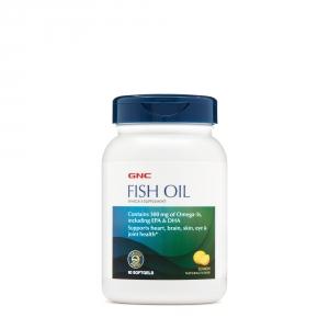 Fish oil (90 capsule gelatinoase moi), GNC