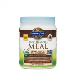 GARDEN OF LIFE Proteina raw organica vegetala cu aroma de ciocolata (509 grame), GNC