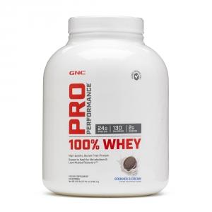 100% Proteina din zer cu aroma de biscuiti si frisca (2195.2 grame), GNC PRO PERFORMANCE