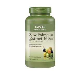 Extract standardizat de palmier pitic, 160 mg (60 capsule), GNC