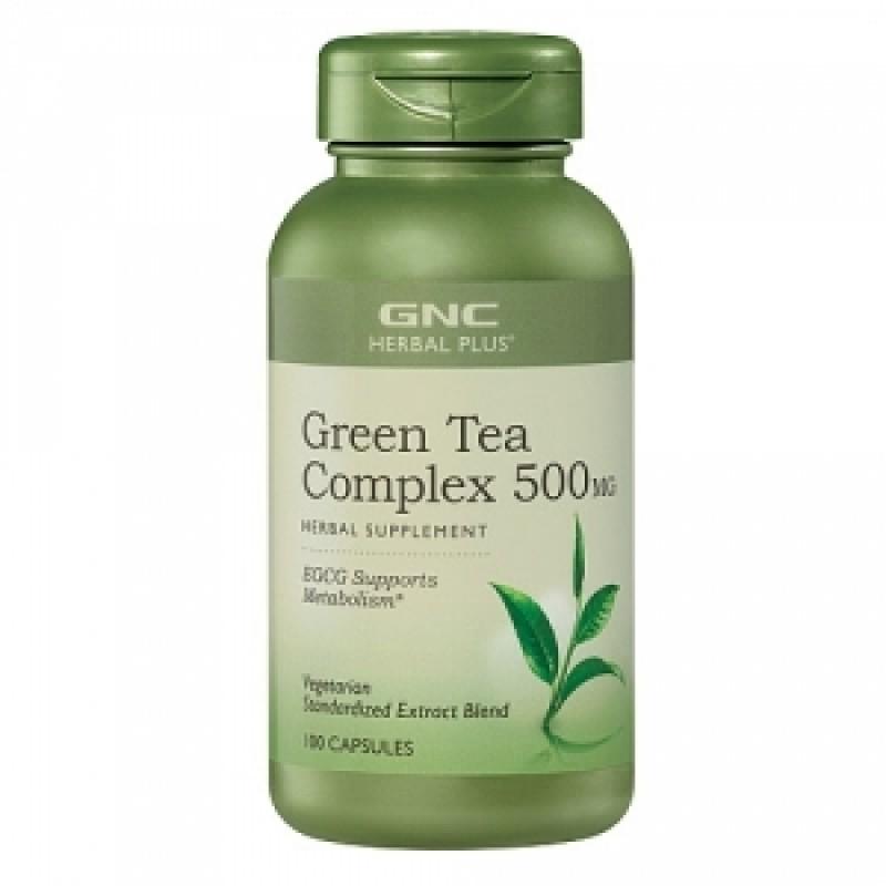 Complex de ceai verde extract standardizat (100 capsule), GNC