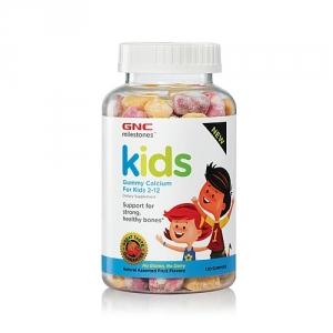Kid's Calciu pentru copii 2-12 ani (120 jeleuri), GNC