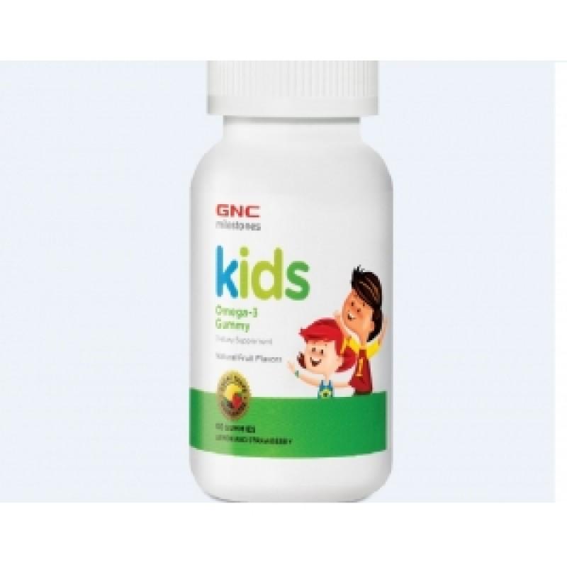 Kid's Omega 3 Gummy (60 jeleuri), GNC