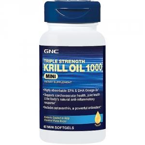 Ultra omega Krill oil (60 capsule), GNC