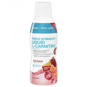Total Lean L-Carnitina lichida 3000 mg aroma de fructe (473 ml), GNC