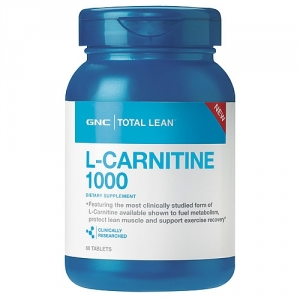 Total Lean Carnitine 1000 mg (60 tablete), GNC