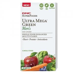 Ultra Mega Green Men's Multivitamine Timed Released (60 tablete), GNC