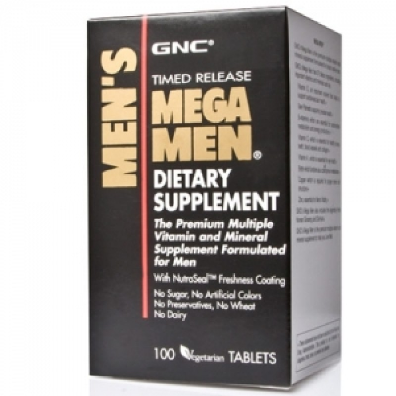 Mega Men Timed released (100 tablete), GNC