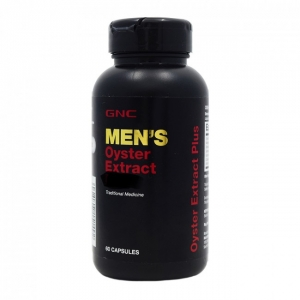 Mens Oyster extract - extract de stridii 500 mg (60 capsule), GNC