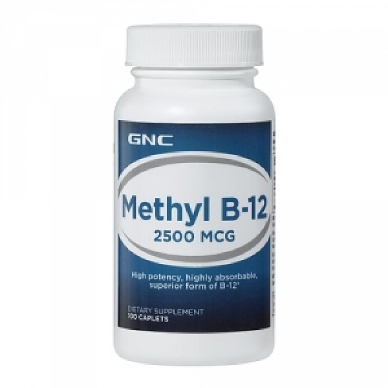 Methyl B-12 2500 mcg (100 capsule), GNC