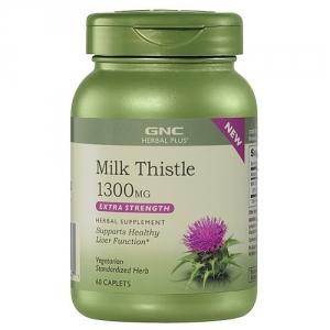 Milk Thistle 1300 mg (60 capsule), GNC