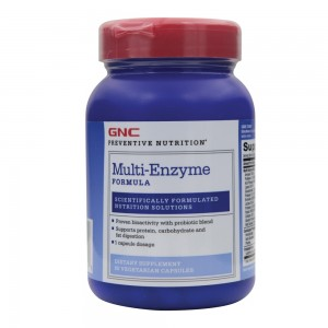 Multi Enzyme Formula (90 capsule), GNC