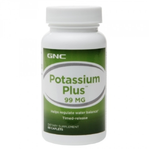 Potasiu + 99 mg (60 tablete), GNC