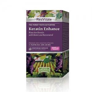 Resvitale Keratin Enhance (60 capsule), GNC