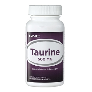 Taurina 500 mg (50 tablete), GNC