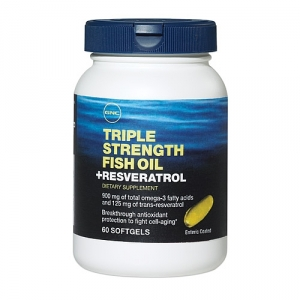 Triple fish with resveratrol (60 capsule), GNC