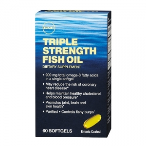 Triple strengh fish oil (60 capsule), GNC