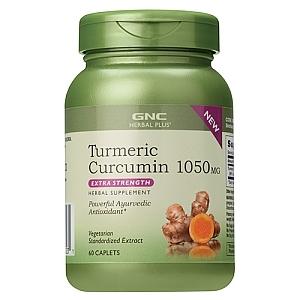 Turmeric - curcumin 1050 mg (60 tablete), GNC
