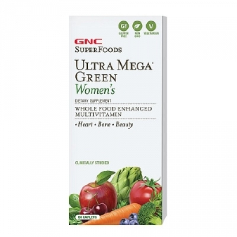 Green Women's Multivitamin (60 tablete), GNC