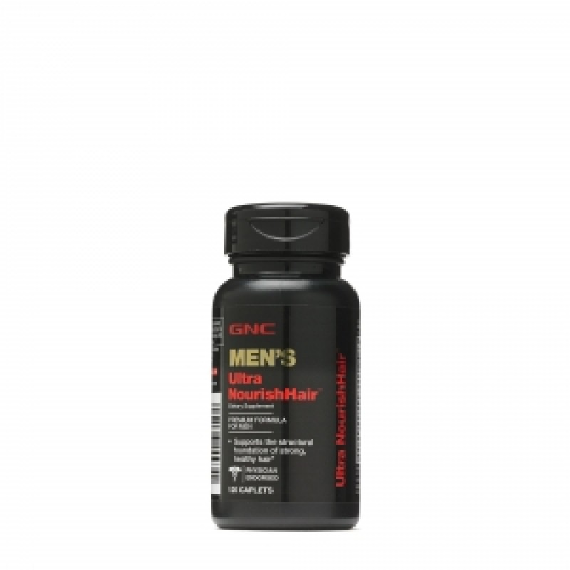 Ultra Nourish Hair Men (120 tablete), GNC