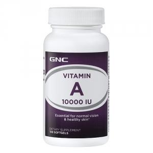 Vitamina A 10.000 UI (100 capsule gelatinoase), GNC