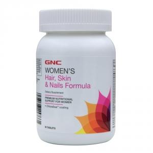 Women Hair, Skin & Nails Formula (90 tablete), GNC
