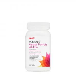 Women's Prenatal Program with Iron (120 tablete), GNC