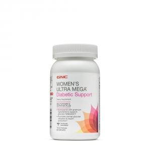 Woman's Ultra Mega Diabetic Support (90 capsule), GNC